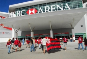 HSBC Arena recebe primeiro jogo do Flamengo em 2010