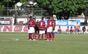 Flamengo está absoluto no Carioca de Juniores