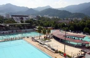 Seleção de nado sincronizado busca abrigo na Gávea