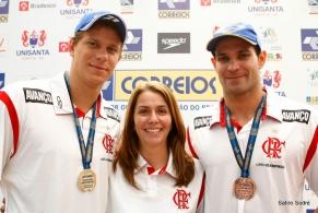 Cesar Cielo ganha o primeiro ouro pelo Flamengo