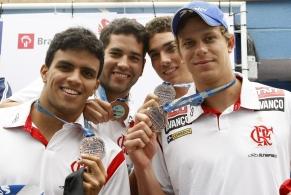 Nicholas Santos conquista mais um ouro para o Flamengo