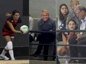Flamengo tem torcida ilustre no voleibol