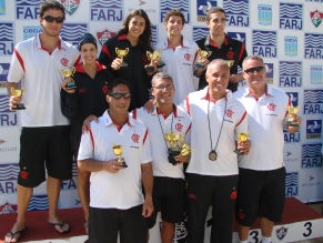 Flamengo é campeão estadual de natação