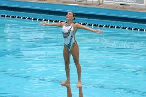 Seleção de nado sincronizado se apresenta no Julio de Lamare