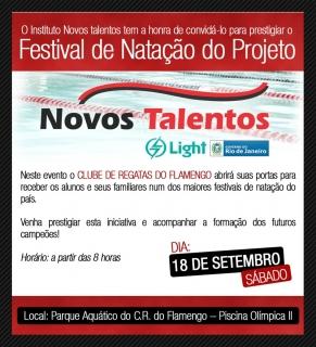 Festival de Natação do Instituto Novos Talentos