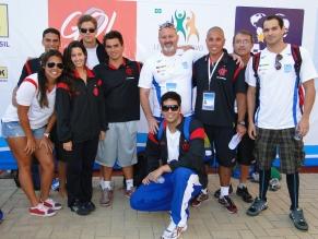 Nadadores do Flamengo voltam a competir no Maria Lenk