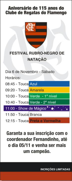 Festival Rubro-Negro de Natação