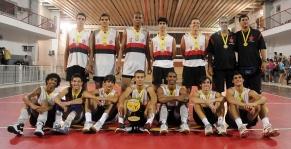 Flamengo é campeão estadual de vôlei masculino infanto-juvenil