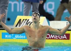 Cielo vence os 100m livre e garante o segundo ouro para o Brasil