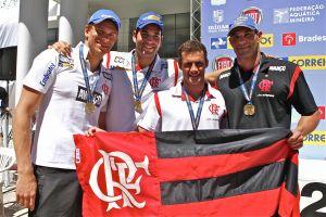 Flamengo é bronze no Troféu José Finkel de Natação