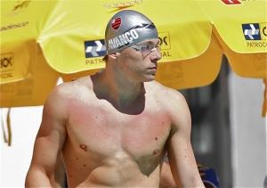 Fla entra na piscina para o Sul-Americano de Natação