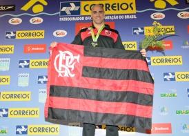Flamengo sobe ao pódio por seis vezes