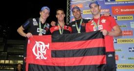 Flamengo reassume a liderança no Finkel de Natação