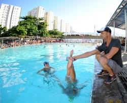 Renomado coreógrafo francês elogia atletas do nado