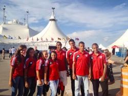 Flamengo leva jovens carentes ao Cirque du Soleil