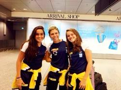 Irmãs do nado competem pelo Brasil no Mundial Junior