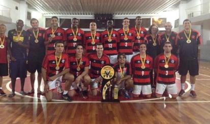 Flamengo é campeão estadual Adulto de vôlei