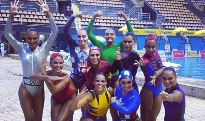 Flamengo estreia no campeonato brasileiro de nado sincronizado