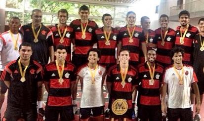 Flamengo é tricampeão estadual de vôlei sub-20