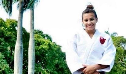 Karine Couto está na Seleção sub-21 de judô