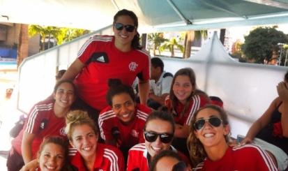 Flamengo estreia na Liga Nacional de Polo Aquático feminino