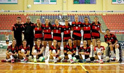 Flamengo é campeão estadual Juvenil de vôlei feminino
