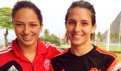 Bárbara Timo e Dani Karla embarcam para Áustria com Seleção de judô
