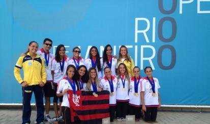 Flamengo é destaque no 4º Brasil Synchro Open