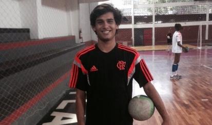 Líbero do Flamengo fica com a prata em Brasileiro Infanto-Juvenil