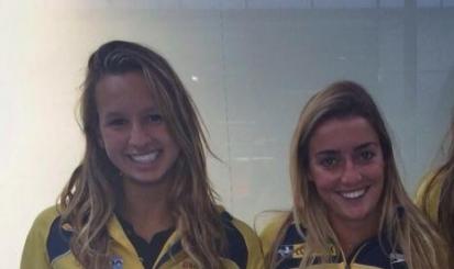 Lorena Molinos e Maria Clara Lobo embarcam para o Oriente