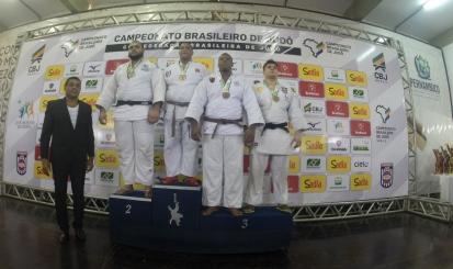 Walter Matheus é bronze no Brasileiro Sub-21 de judô