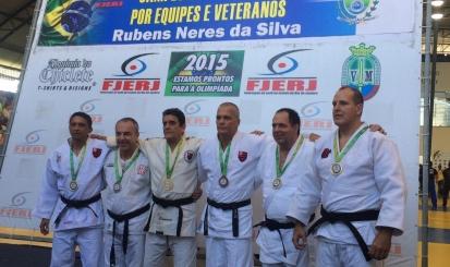 Flamengo tem seis medalhistas no Estadual de Veteranos