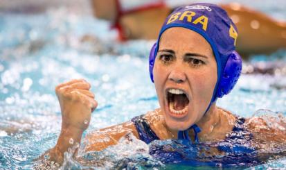 Marina Canetti marca em primeira vitória do Brasil no Pan