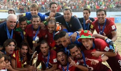 Com três rubro-negros, Portugal é campeão mundial de beach soccer
