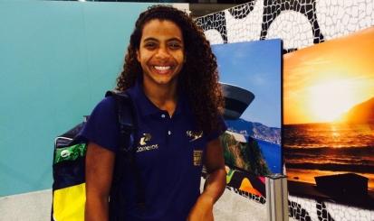 Lorena Borges embarca para Mundial de Kazan