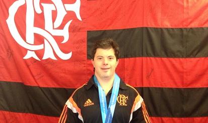 Breno Viola fica em quinto lugar na Special Olympics