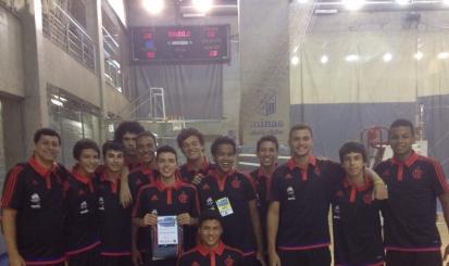 Flamengo tem o melhor levantador de Copa Minas Infantil Masculino