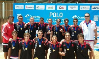 Sub-17 é campeão invicto da Copa Brasil Junior de polo