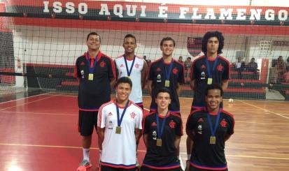 Seleção carioca é campeã brasileira com seis atletas do Fla