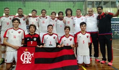 Flamengo é campeão da Taça Paraná de Vôlei