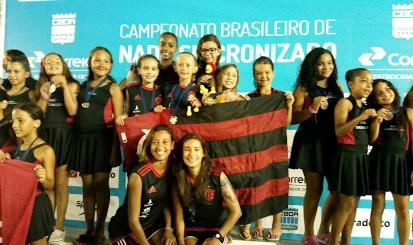 Base rubro-negra tem grande atuação no Brasileiro