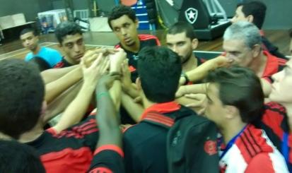 Flamengo fica com a prata no estadual de vôlei