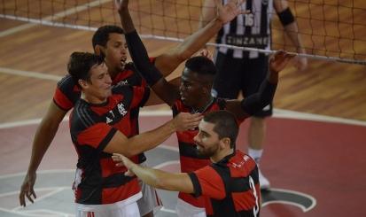 Flamengo entra em quadra contra o Sada Cruzeiro B