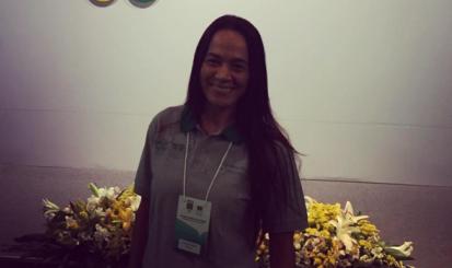 Com Rosicleia Campos, Seleção Brasileira embarca para a França