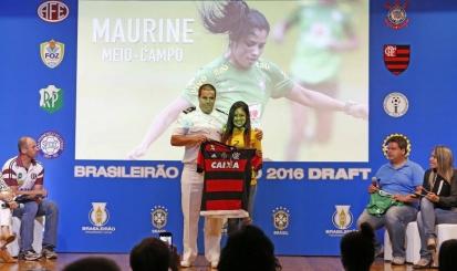 Flamengo participa de Draft do Brasileiro Feminino