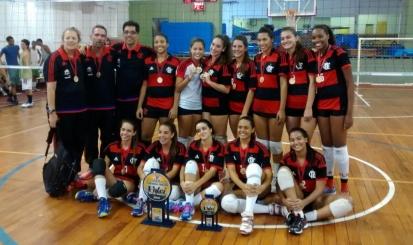 Flamengo é campeão do Torneio Início Infanto Feminino de vôlei