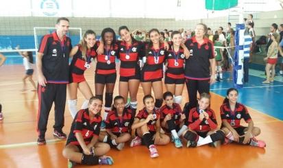 Equipes de base estreiam na Copa Rio de vôlei