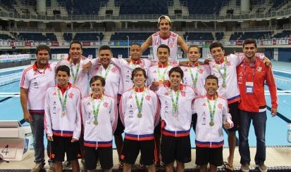 Flamengo é campeão no polo aquático do AqueceRio