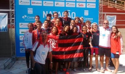 Flamengo conquista bons resultados no Torneio Sudeste de Natação