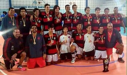 Infanto masculino é campeão da Copa Rio